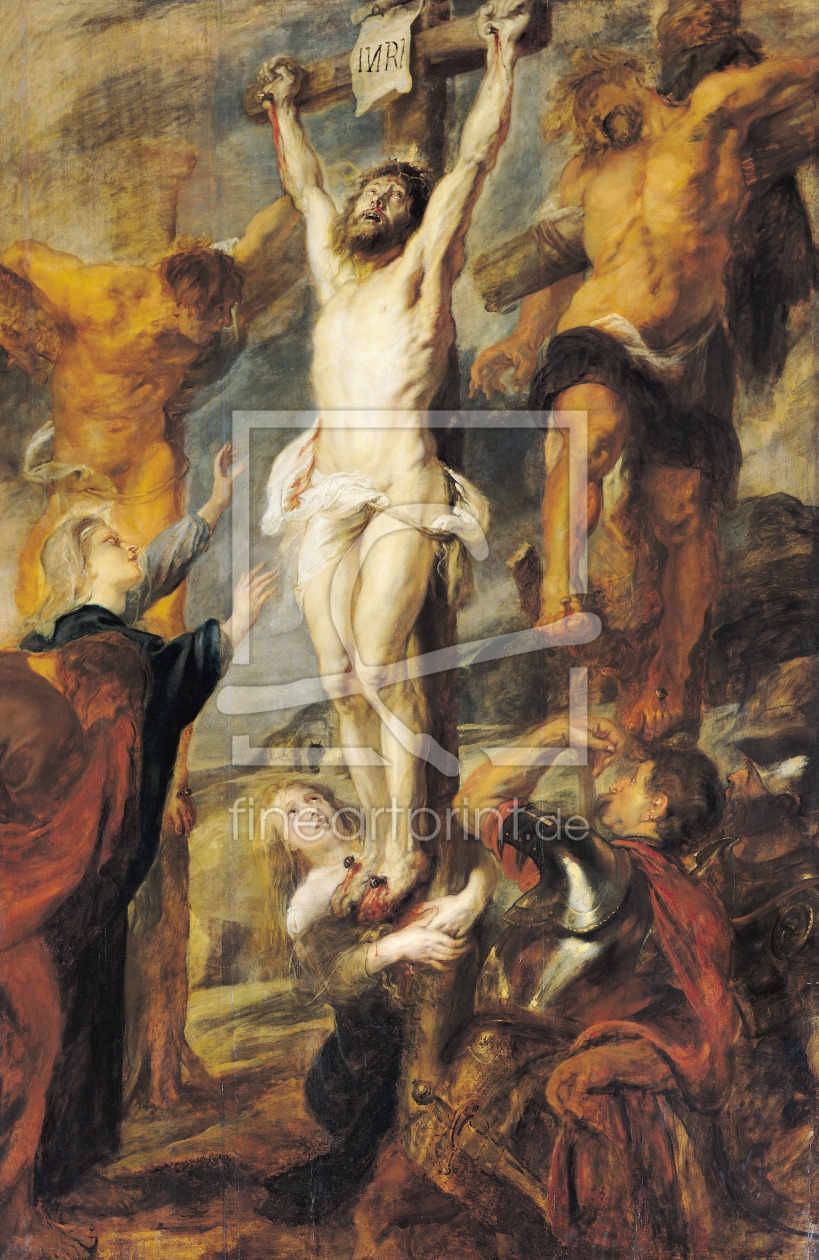 Bild-Nr.: 31001181 Christ Between the Two Thieves, c.1635 erstellt von Rubens, Peter Paul
