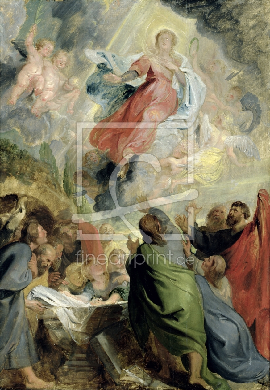 Bild-Nr.: 31001220 The Assumption of the Virgin Mary erstellt von Rubens, Peter Paul