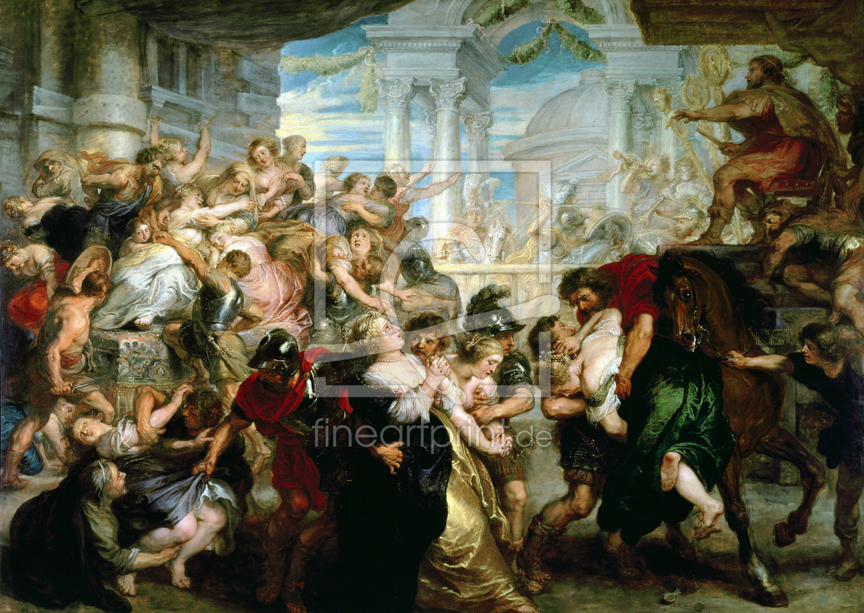 Bild-Nr.: 31001233 The Rape of the Sabine Women, c.1635-40 erstellt von Rubens, Peter Paul