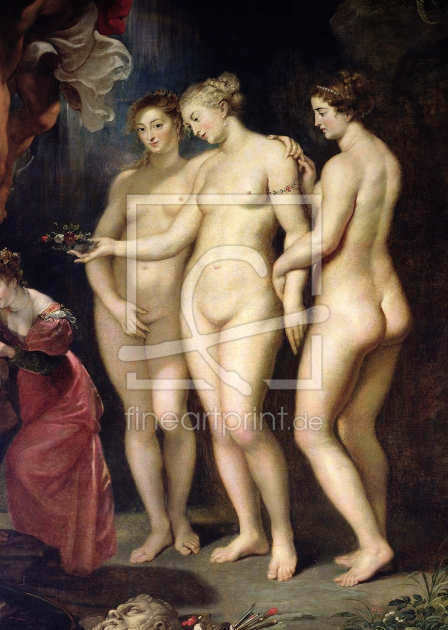 Bild-Nr.: 31001239 The Medici Cycle: Education of Marie de Medici, detail of the Three Graces, 1621 erstellt von Rubens, Peter Paul