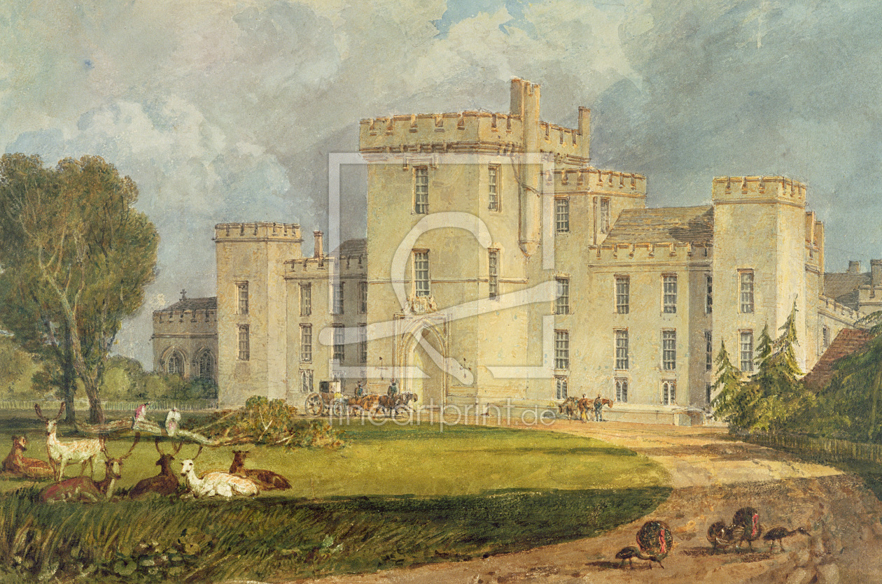 Bild-Nr.: 31001260 View of Hampton Court from the North-west, c.1806 erstellt von Turner, Joseph Mallord William