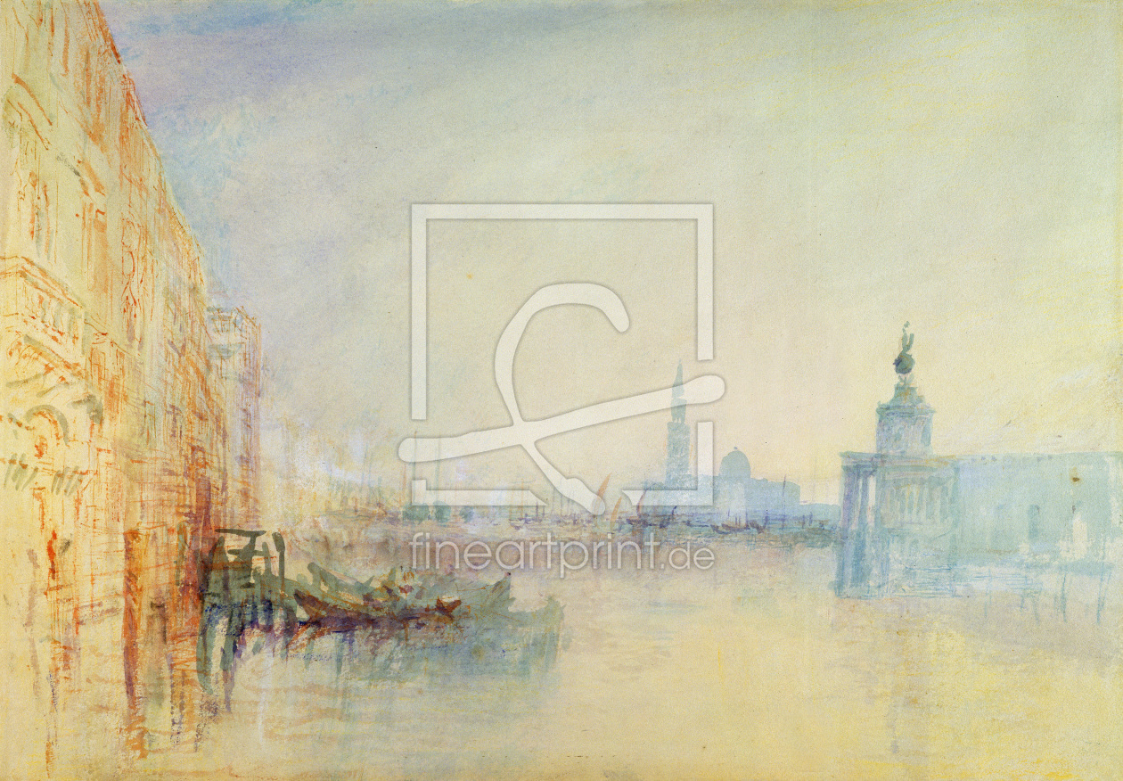 Bild-Nr.: 31001264 Venice, The Mouth of the Grand Canal, c.1840 erstellt von Turner, Joseph Mallord William