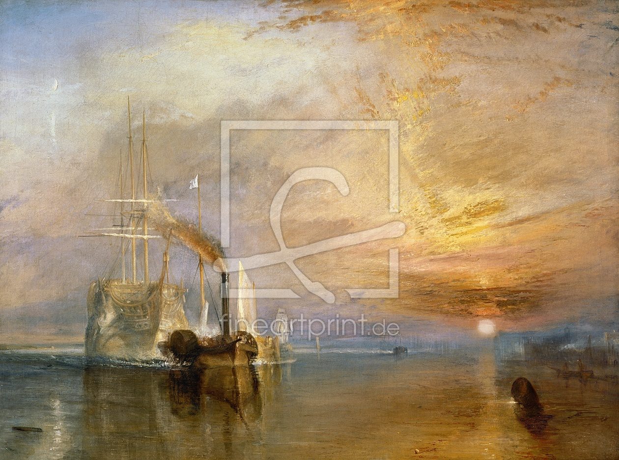 Bild-Nr.: 31001284 The Fighting Temeraire, 1839 erstellt von Turner, Joseph Mallord William