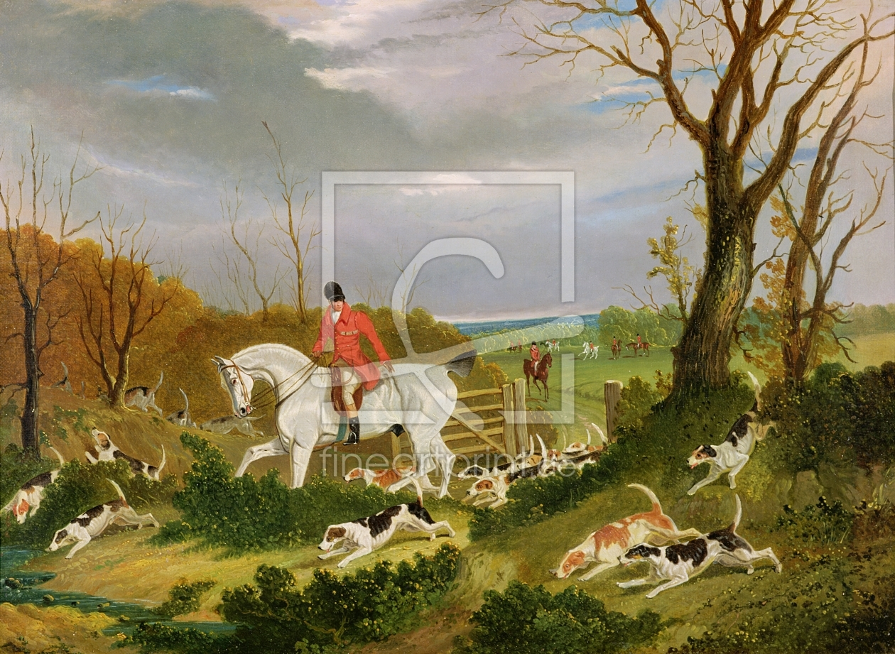 Bild-Nr.: 31001586 The Suffolk Hunt - Going to Cover near Herringswell erstellt von Herring Snr, John Frederick