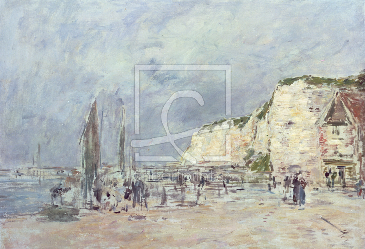 Bild-Nr.: 31001697 The Cliffs at Dieppe and the 'Petit Paris' erstellt von Boudin, Eugene Louis