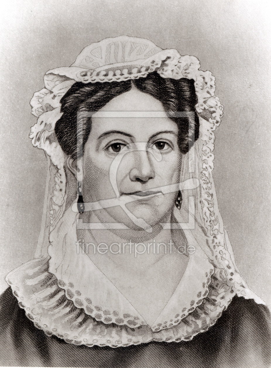 Bild-Nr.: 31001834 Rachel Jackson, from 'The Ladies of the White House' by Laura Carter Holloway La erstellt von Anonyme Künstler