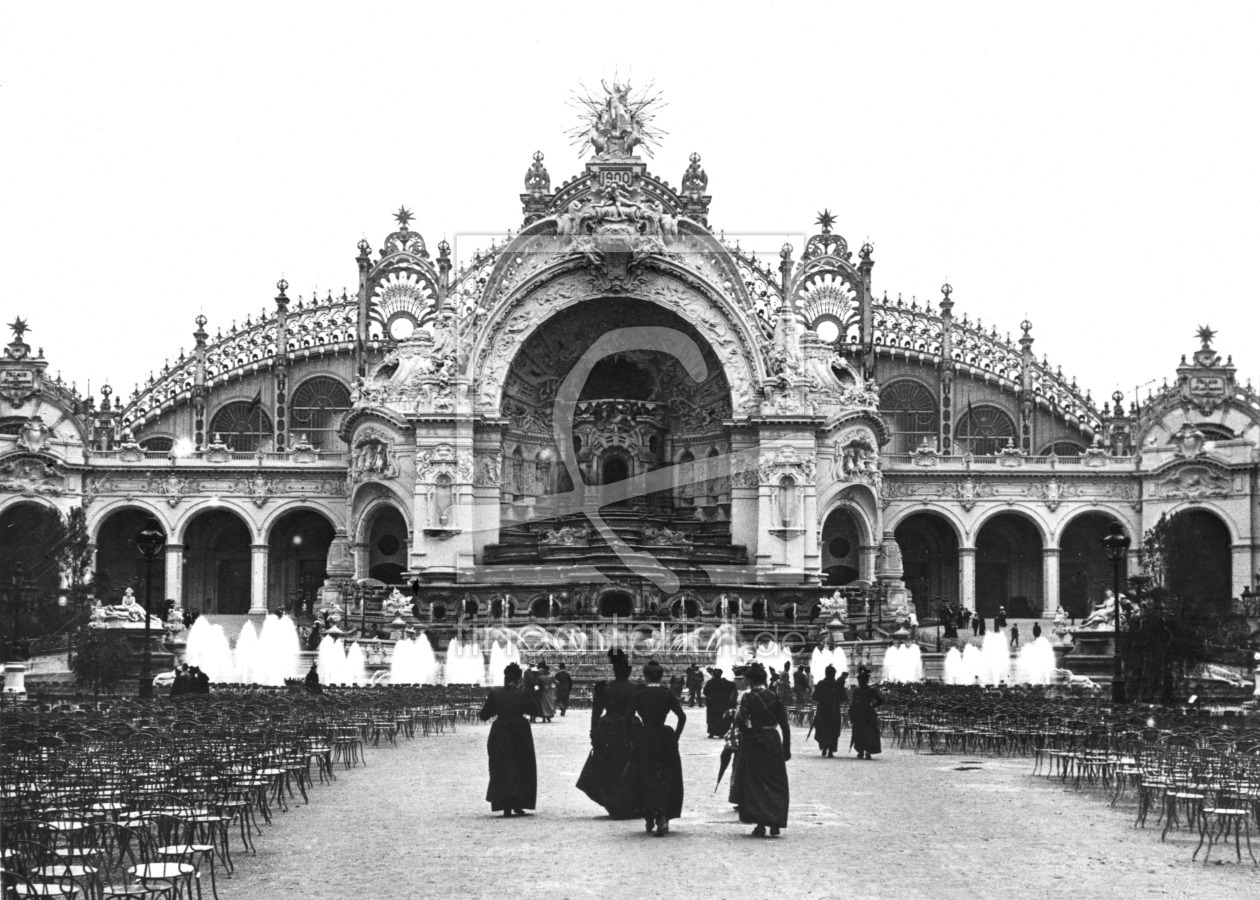 Bild-Nr.: 31002054 The Palace of Electricity at the Universal Exhibition of 1900, 1900 erstellt von Unbekannte Fotografen