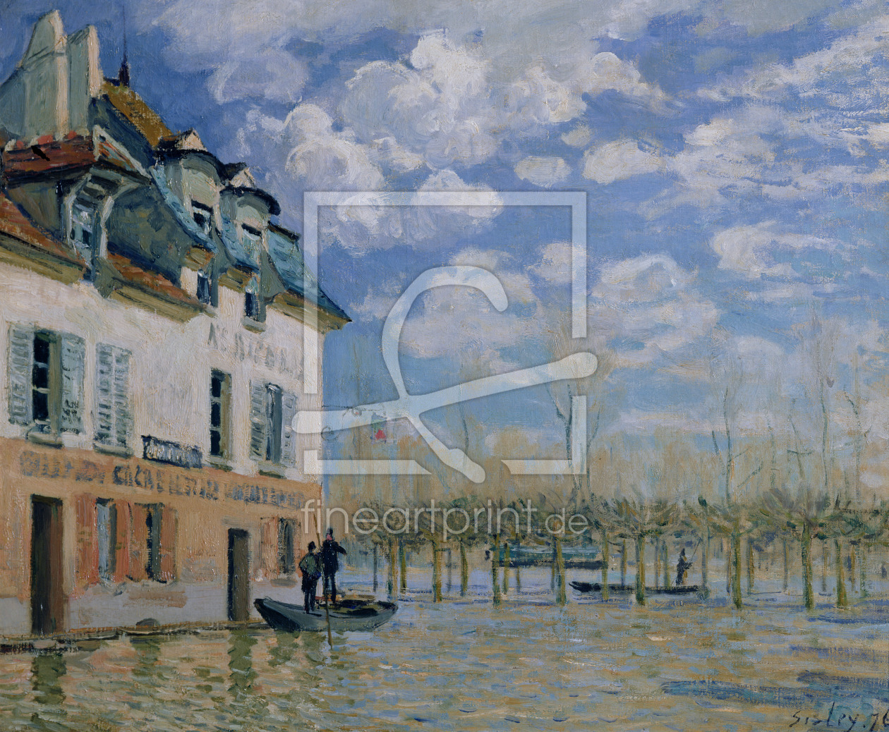 Bild-Nr.: 31002097 The Boat in the Flood, Port-Marly, 1876 erstellt von Sisley, Alfred