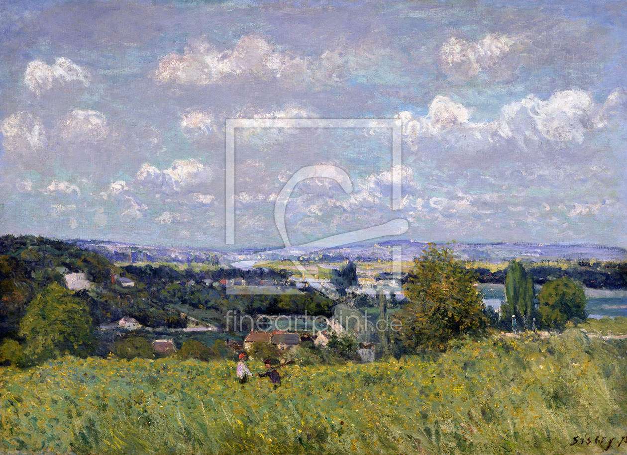 Bild-Nr.: 31002113 The Valley of the Seine at Saint-Cloud, 1875 erstellt von Sisley, Alfred