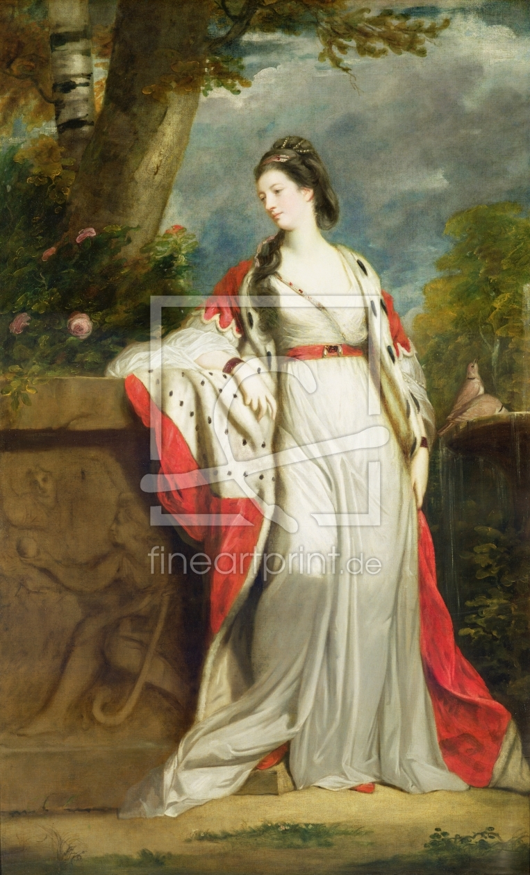 Bild-Nr.: 31002233 Elizabeth Gunning, Duchess of Hamilton and Duchess of Argyll, c.1760 erstellt von Reynolds, Sir Joshua