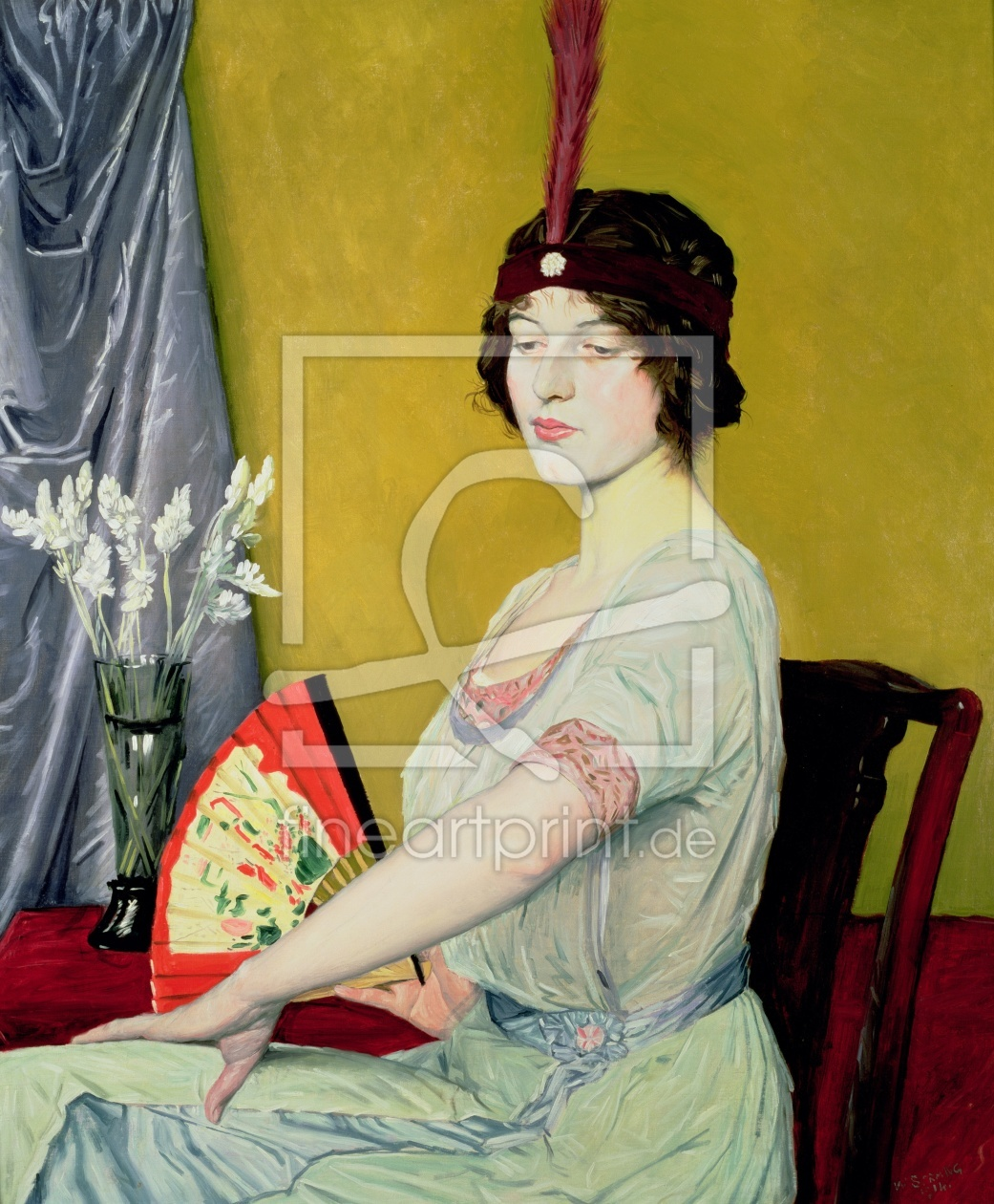 Bild-Nr.: 31002306 The Japanese Fan, 1914 erstellt von Strang, William