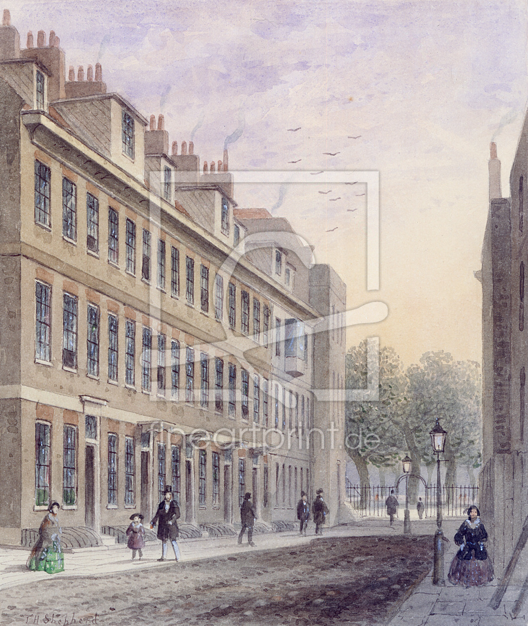Bild-Nr.: 31002468 View of Fludyer Street, looking towards St. James's Park, 1859 erstellt von Shepherd, Thomas Hosmer