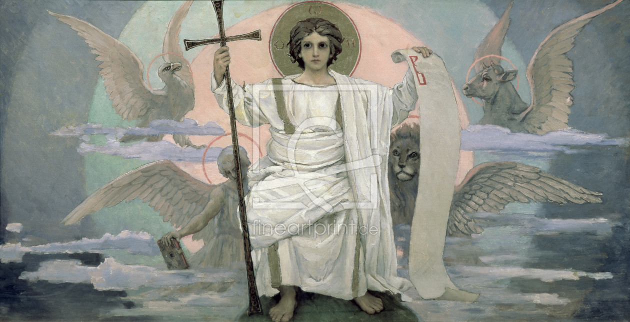 Bild-Nr.: 31002700 The Son of God - The Word of God, 1885-96 erstellt von Vasnetsov, Victor Mikhailovich
