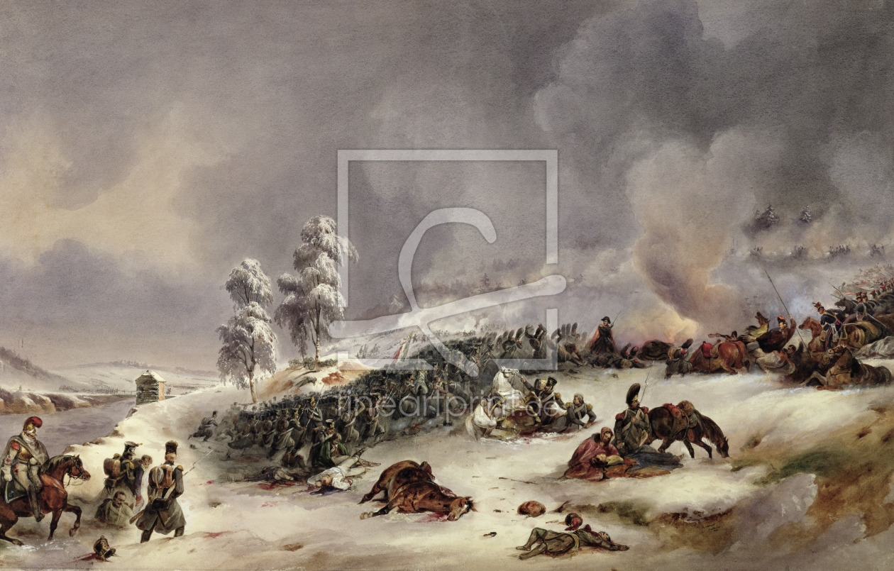 Bild-Nr.: 31002710 Battle of Krasnoi, 18th November 1812 erstellt von Fort, Jean Antoine Simeon
