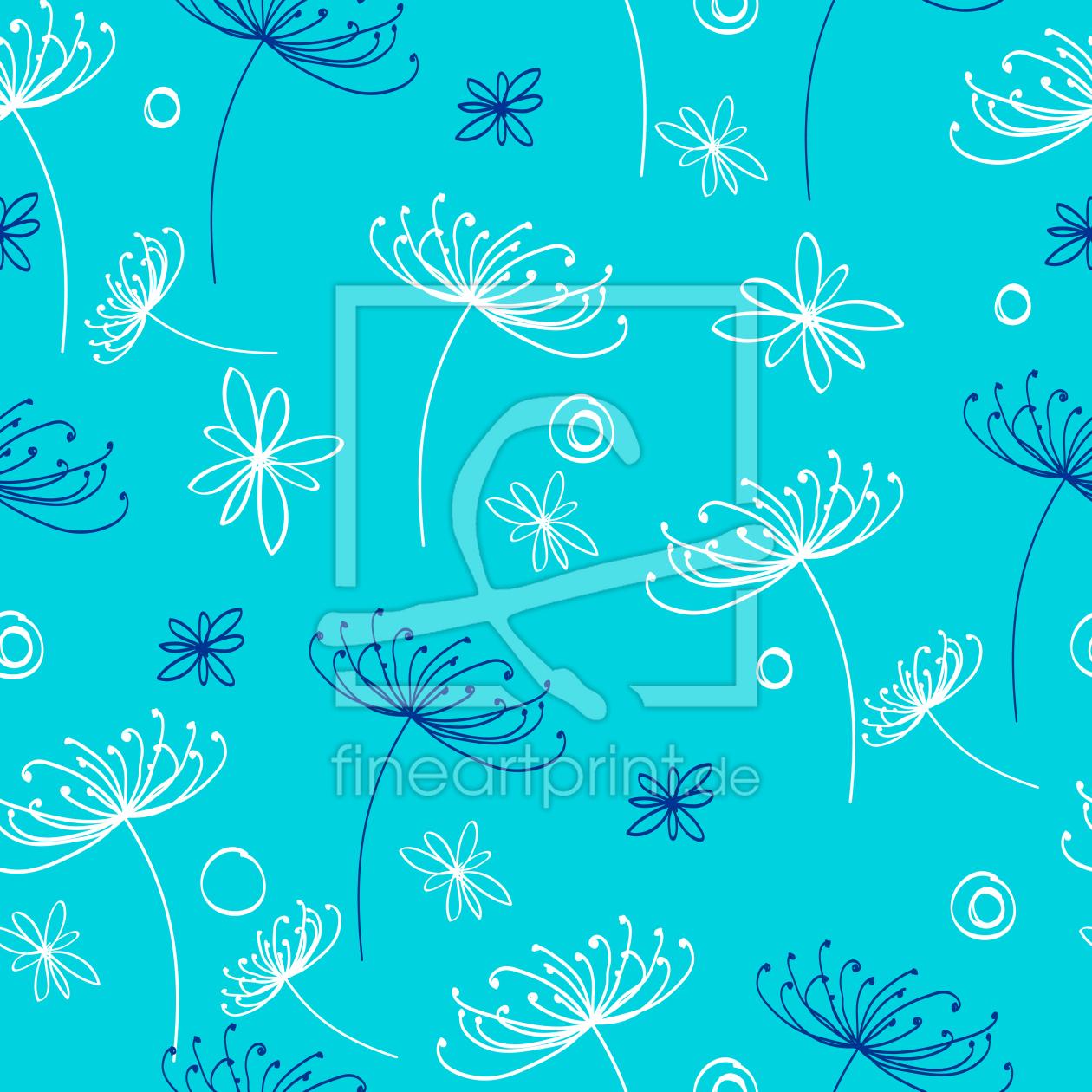 wildblumen als leinwand von patterndesigns com erh lt. Black Bedroom Furniture Sets. Home Design Ideas