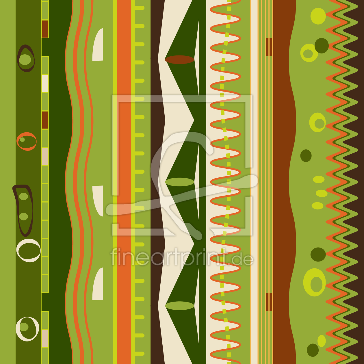 Streifen an die wand als leinwand von patterndesigns - Streifen an die wand malen ...