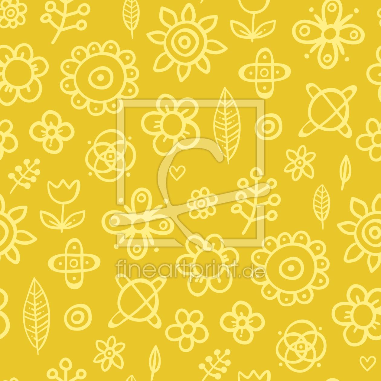 florale zeichnungen als poster drucken lassen 9009462. Black Bedroom Furniture Sets. Home Design Ideas