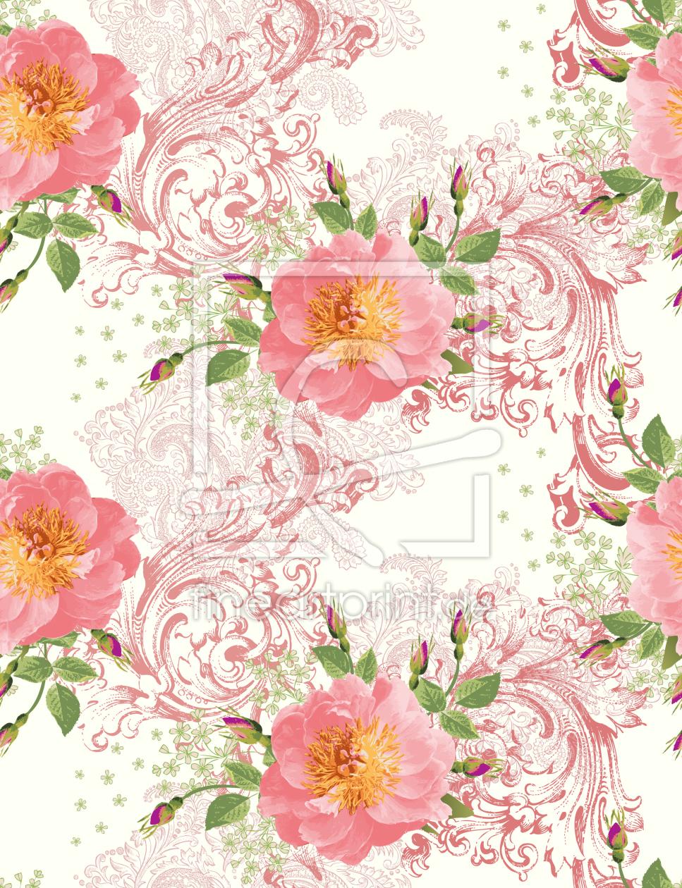 epochale rosen als teppich von patterndesigns com er. Black Bedroom Furniture Sets. Home Design Ideas