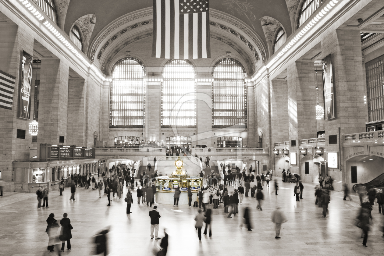 Bild-Nr.: 9276304 Grand Central Station - New York City erstellt von Holger Dorn