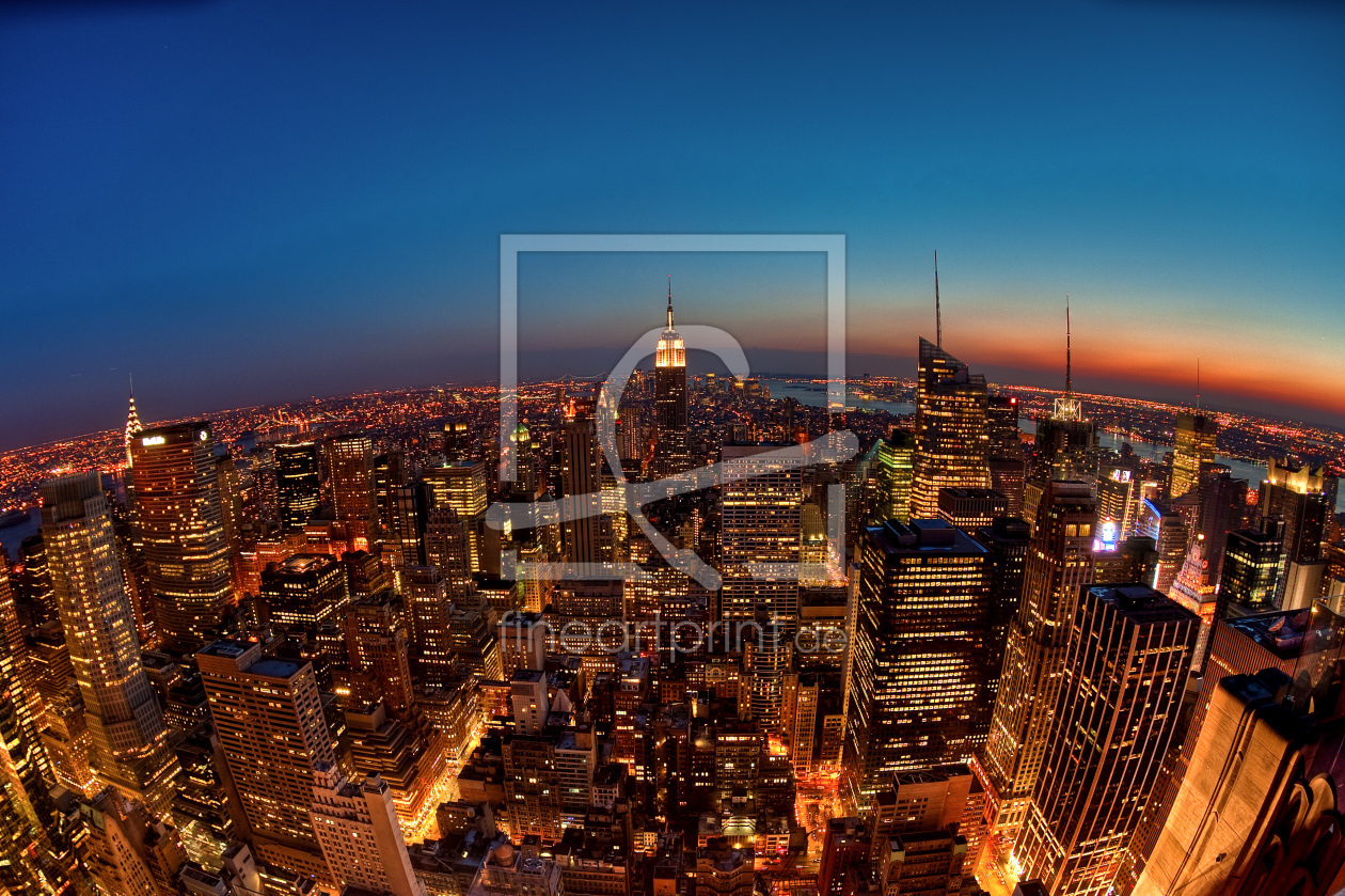 new york skyline als leinwand von fotoburschen erh ltli. Black Bedroom Furniture Sets. Home Design Ideas