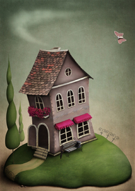 The little toy house on the hill/9630014