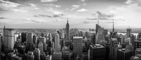 Bild-Nr: 10325473 New York City - Black and White Panorama Erstellt von: mao-in-photo