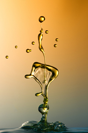 Water Sculpture: Golden Line/10810005