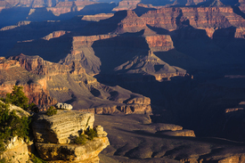 Bild-Nr: 10915191 First light in Grand Canyon Erstellt von: DenisFeiner