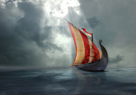 viking ship/10973804