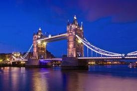 Bild-Nr: 10991546 Tower Bridge at Night Erstellt von: Melanie Viola