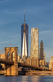 Bild-Nr: 11133812 One World Trade Center and Brooklyn Bridge Erstellt von: TomKli