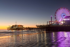 Riesenrad  am Santa Monica Pier, Los Angeles/11167740