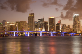 Skyline von Miami, Florida/11214836