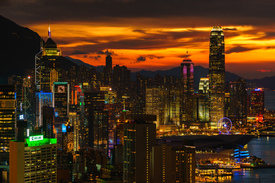 Bild-Nr: 11541680 Hong Kong Sunset - Central District Erstellt von: HongKong88