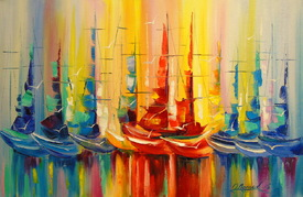Rainbow regatta/11637011