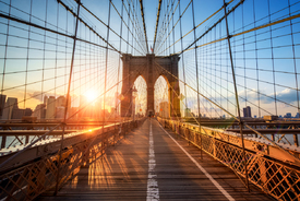 Bild-Nr: 11713392 Brooklyn bridge in New York City Erstellt von: eyetronic