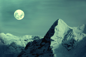Vollmond am Eiger/11742068