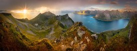 Husfjellet Mountain on Senja in Norway/11834249