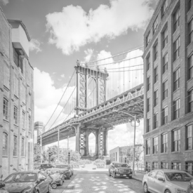 NEW YORK CITY Manhattan Bridge - Monochrom/11980440