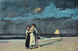 Bild-Nr: 30001050 Winslow Homer / Promenade on the Beach Erstellt von: Homer, Winslow
