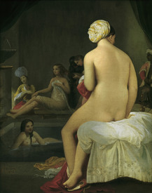 Bild-Nr: 30001188 Ingres / Little Bather in Harem / 1828 Erstellt von: Ingres, Jean-Auguste-Dominique