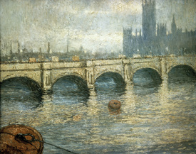 Bild-Nr: 30004232 Monet / Bridge over the Thames / 1903 Erstellt von: Monet, Claude