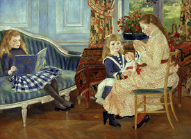 Bild-Nr: 30006662 Renoir /Afternoon of the children /1884 Erstellt von: Renoir, Pierre-Auguste