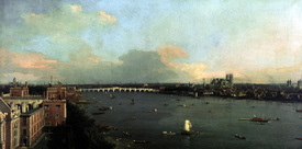 Bild-Nr: 30007389 View of London / Canaletto / 1747 Erstellt von: Canal, Giovanni Antonio & Bellotto, Bernardo