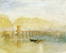 Bild-Nr: 30008161 William Turner / Mosel Bridge / Coblenz Erstellt von: Turner, Joseph Mallord William