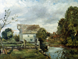 Bild-Nr: 30008373 Constable / Mill by the River Stour Erstellt von: Constable, John