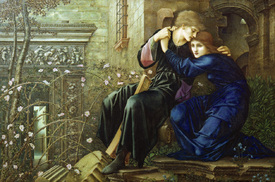 Bild-Nr: 30009048 E.Burne-Jones / Love among Ruins / 1893 Erstellt von: Burne-Jones, Edward