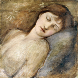 Bild-Nr: 30009050 E.Burne-Jones, Sleeping Princess Erstellt von: Burne-Jones, Edward