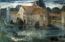 Bild-Nr: 30009062 E.Burne-Jones / The Watermill / 1890s Erstellt von: Burne-Jones, Edward