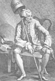 Bild-Nr: 30009156 John Wilkes / Etching by Hogarth / 1763 Erstellt von: Hogarth, William